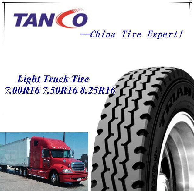 Light Truck Tyre TBR Truck Tires Radial 7.00r16 7.50r16 8.25r16