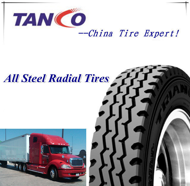 All Steel Truck Tire TBR Tire for MID-East Market 12.00r24