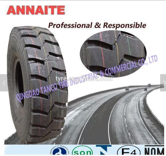 2018 Promotion Price Annaite 315 80 R22.5 Truck Tyre
