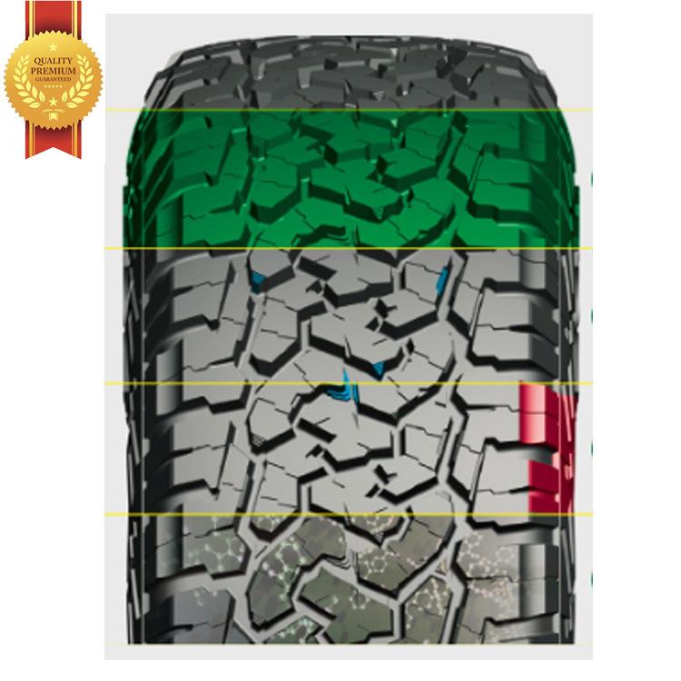 China Bfgoodrich Roadcruza Brand All Terrain at Ra1100 Comforser Mud Mt CF3000 Radial PCR Passenger Car Tyre 31*10.50r15lt