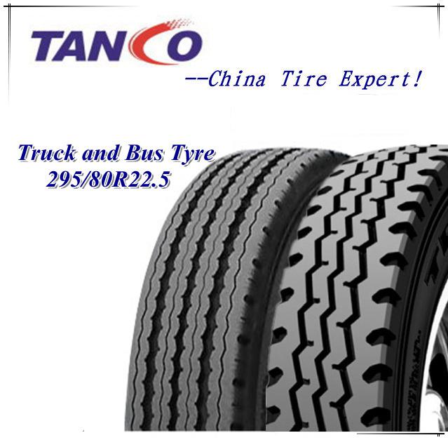 Radial Truck Tyre TBR Tire 295/80r22.5 16/18pr