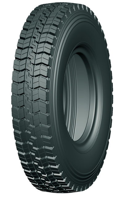Chinese Natural Rubber Low Profile Truck Tire with High Quality