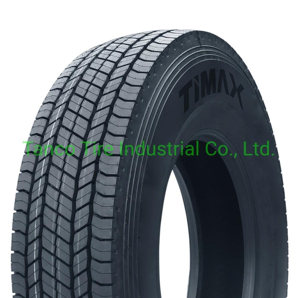 Rubber Tire Truck Tire 22.5 Tiller Tyre with ECE, DOT, ISO, Gcc Certificates