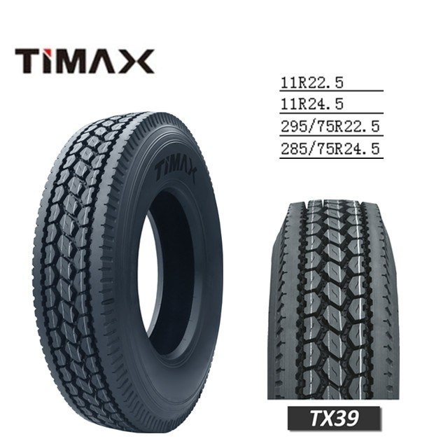Linglong Brand 295/75r22.5 11r22.5 Made in Thailand Good Quality Truck Tire for Trailer Wheel