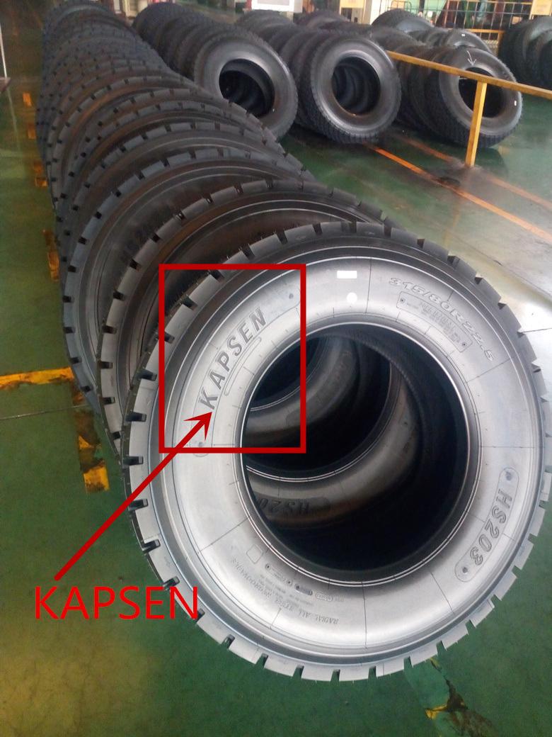 Triangle Quality Kapsen Brand Radial Truck Tyre (11r22.5 295/80r22.5 295/75r22.5) Hot Sale Radail Truck Tires 12.00r24 1200r24 TBR Tyres 315/80r22.5 385/65r22.5