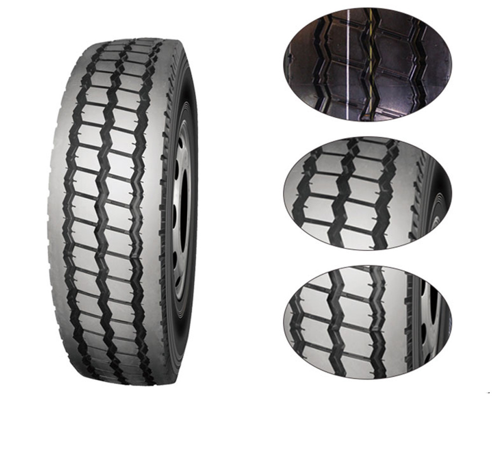 Military 19.5 Used Semi Truck Tires 900 20 7.50r16 11r22.5 All Steel Tubeless Type