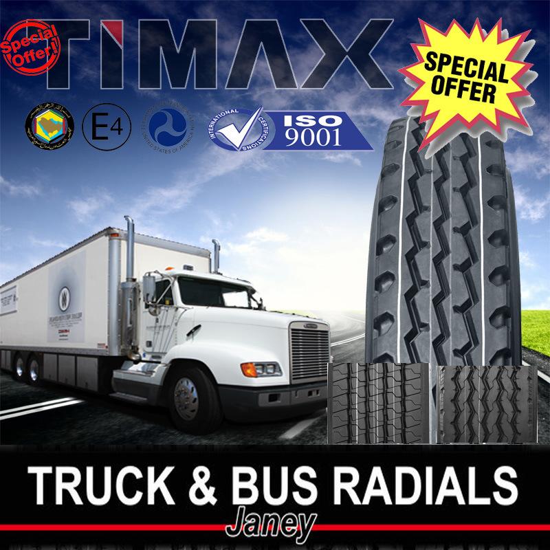 Heavy Duty Truck DOT Smartway Radial Tire 295/75r22.5 285/75r24.5