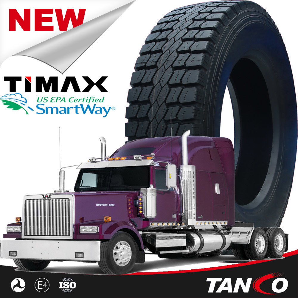 Truck Tires for Us with DOT Smartway 11r22.5