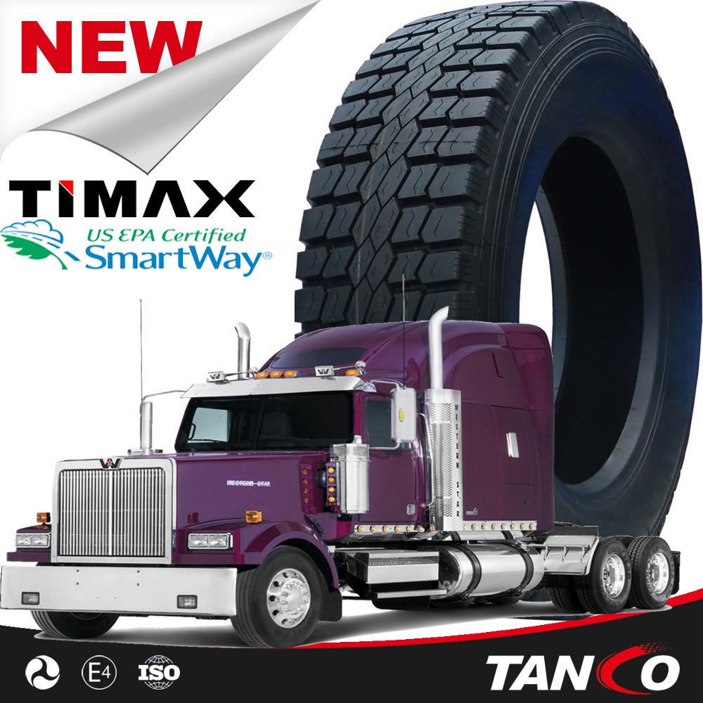 11r22.5 Open Shoulder Heavy Duty Truck Tires DOT Smartway