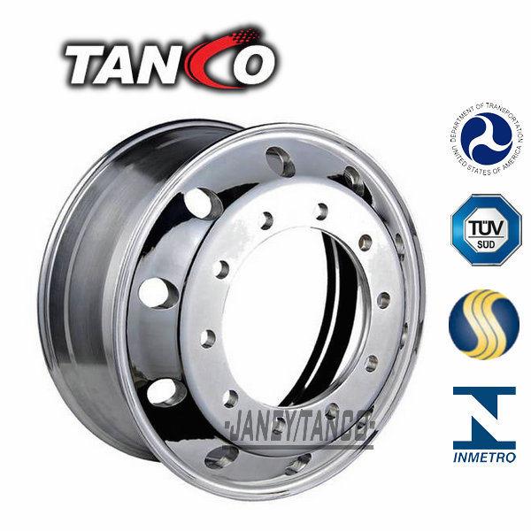 Aluminum and Steel Semi Truck Wheel Rim (22.5*8.25, 22.5*9.00, 22.5*11.75, 17.5*6.00)