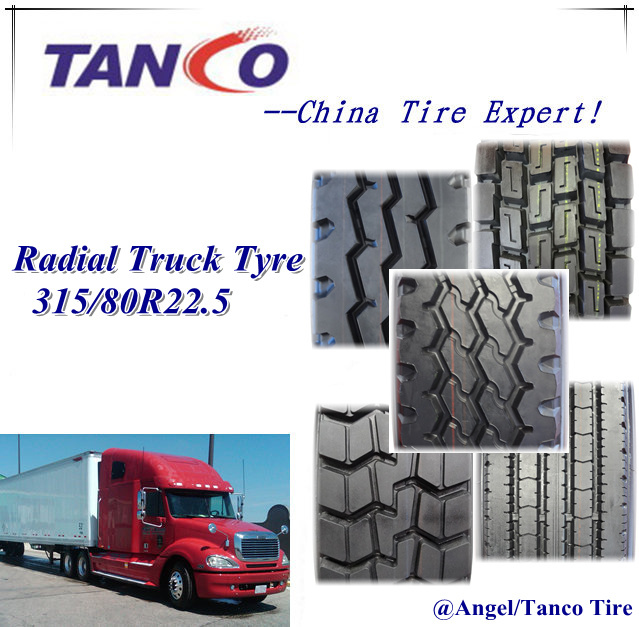 China Brand Truck and Bus Radial Tyres 1200r24 315/80r22.5 385/65r22.5