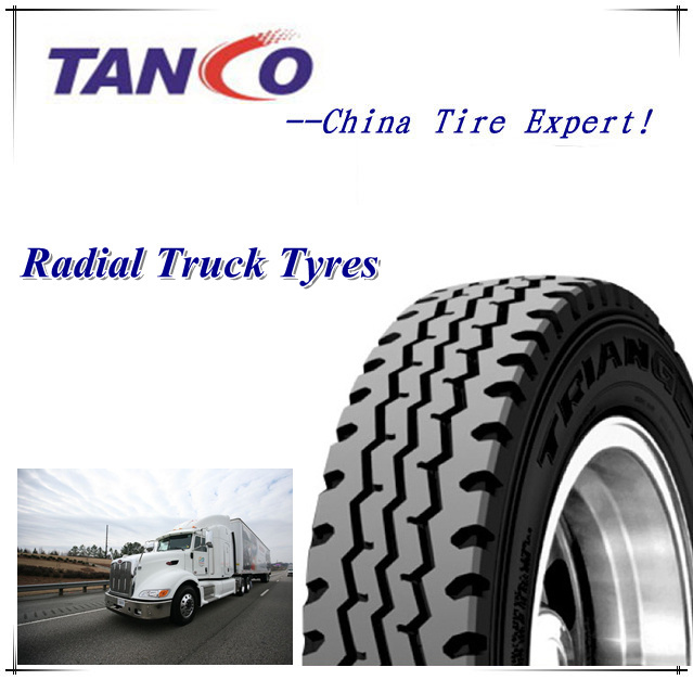 Triangle Brand 12.00r20 1200r20 18/20ply Tube Truck Tyres with DOT, ECE, Gcc