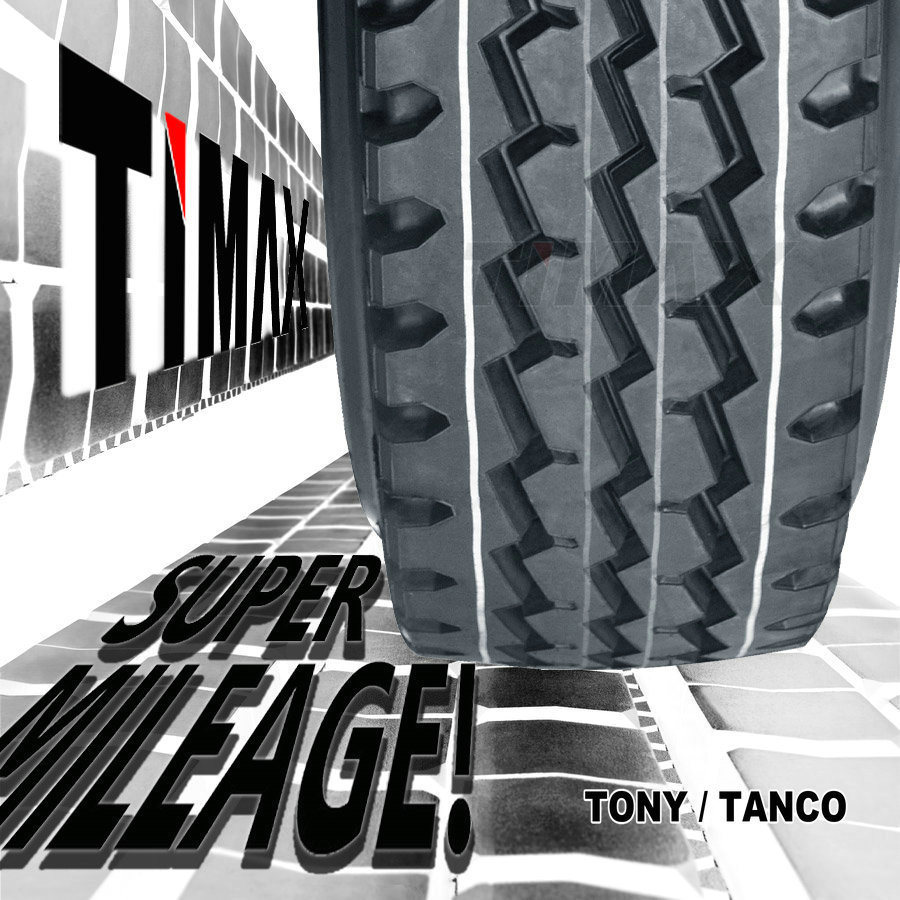 288000kms Timax Tube Truck Tyres for Asia (10.00R20, 11.00R20, 12.00R20)