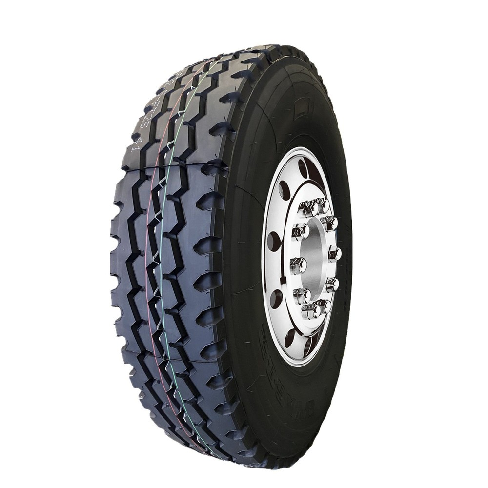 Chinese Famous Brand Ansu Bayi Bycross TBR Truck and Bus Tires 1200r24 315/80r22.5 215/75r17.5 285/75r24.5 11r22.5 12r22.5 13r22.5 295/80r22.5