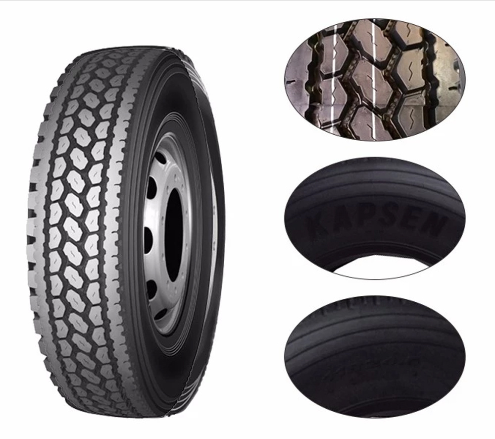 295/75r22.5 Kapsen Tire 11r22.5 11r24.5 China Tires 295/75/22.5 Truck Tires Made in Thailand