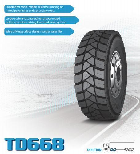New design Radial Truck Bus Tires Manufacturers TBR 11r22.5