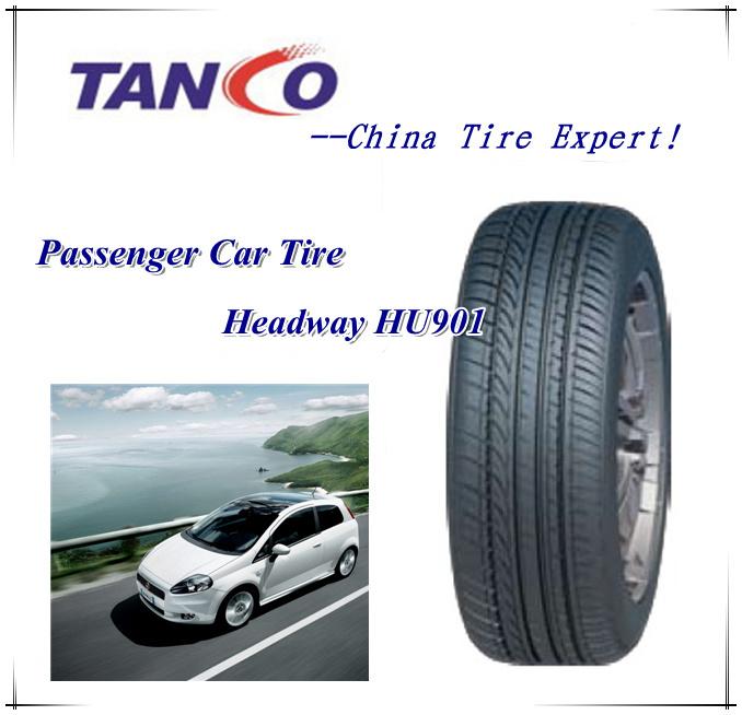 Cheap High Quality ECE Gcc Hilo Car Tires 185X70X14 Car Tyre