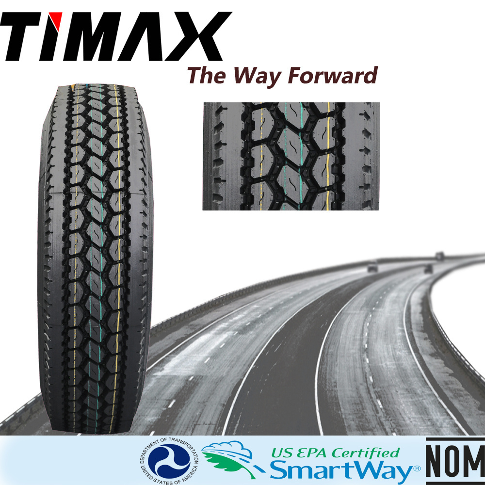 Smartway Steel Radial Truck Tire with DOT Certification 295/75r22.5