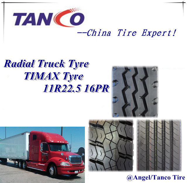Truck and Bus Radial Tires 11r22.5 16ply
