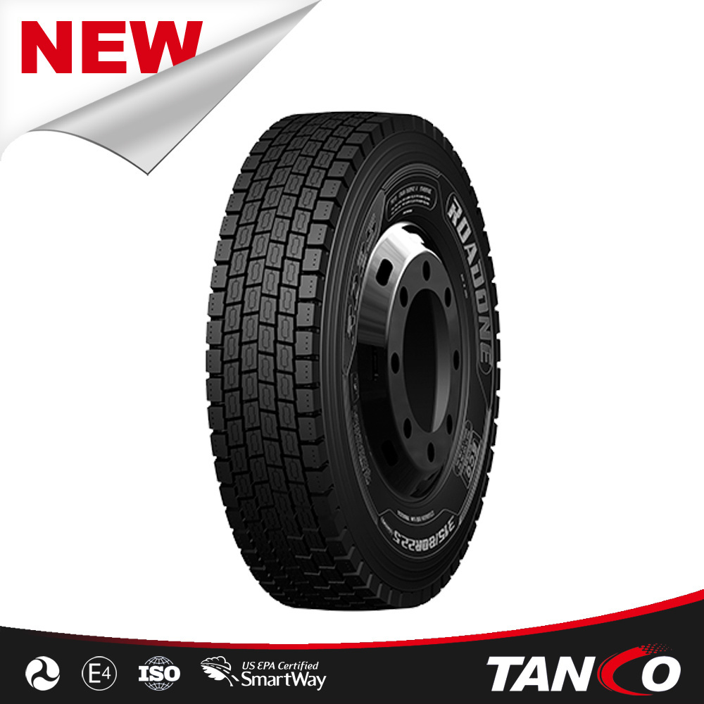 China Tyre Manufacturer for Roadone Brand Radial Truck Tyres New Tires